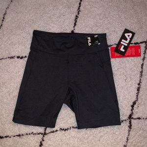 Fila Shorts - NWT High Rise Fila Bike Shorts